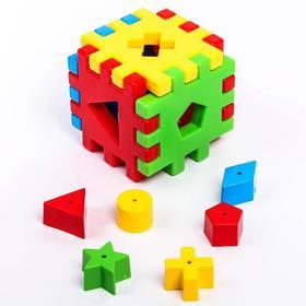 Игрушка-сортер развивающая «Волшебный куб», 12 элементов