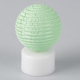 Светильник 'Ребристый шар' (МИКС, 3xLR44 в комплекте) 5x5x7,5 см Ош