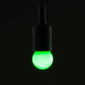 Лампа светодиодная декорат., G40, 6 led SMD, для белт-лайта, зеленый, фасовка по 100 штук