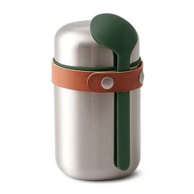 Термос для горячего Food Flask оливковый, 400 мл