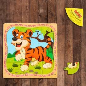 Пазл в рамке «Тигр»