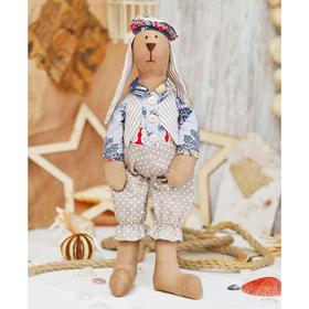 Набор для шитья текстильной игрушки «Зайчик Фидель»