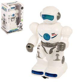 Робот «Странник», световые и звуковые эффекты, работает от батареек Ош