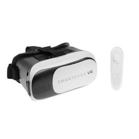 3D очки Smarterra VR, BT- контроллер для смартфонов, бело/черные Ош