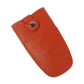 Футляр для ключей, кольцо, цвет красный