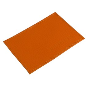 Футляр для карточек, цвет оранжевый