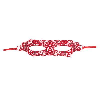 Карнавальная маска «Незнакомка», ажурная - Фото 1