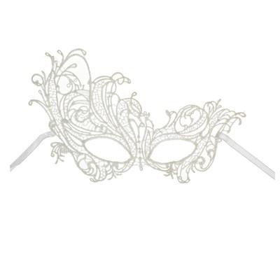 Карнавальная маска «Загадка», ажурная - Фото 1