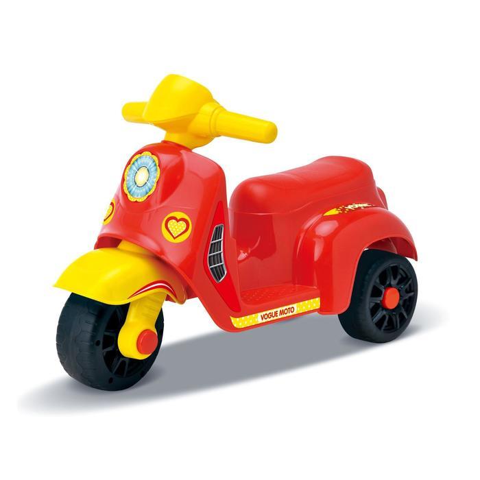 Толокар Мотоцикл, цвет красный