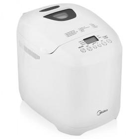Хлебопечка Midea BM-210BC-W, 580 Вт, 13 программ, 3 степени пропекания, белая