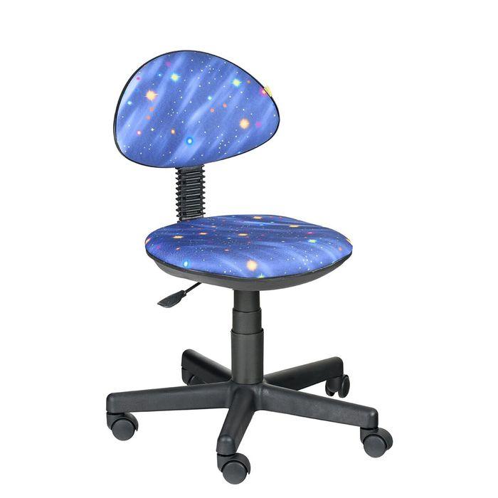 Детское кресло Логика, синий, без подлокотника Т-13