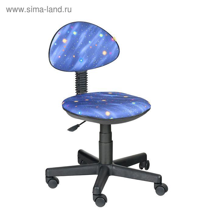 """Детское кресло """"Логика"""", синий, без подлокотника (Т-13)"""