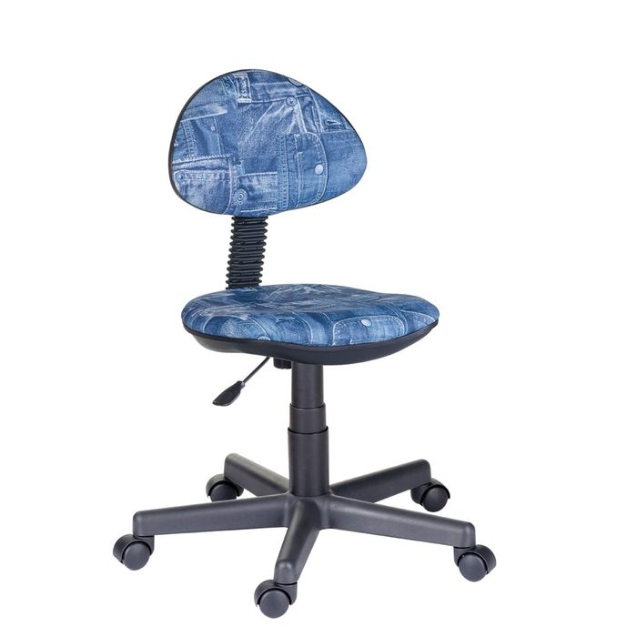 """Детское кресло """"Логика"""", синий, без подлокотника (Т-18А)"""