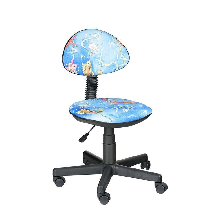 Детское кресло Логика,  голубой, без подлокотника  Т-19