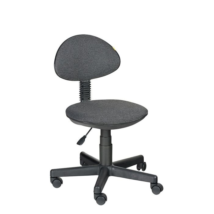 Детское кресло Логика,  серый, без подлокотника  В-40