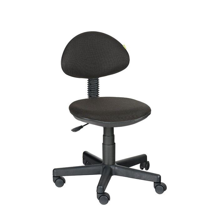 Детское кресло Логика,  чёрный, без подлокотника  В-14