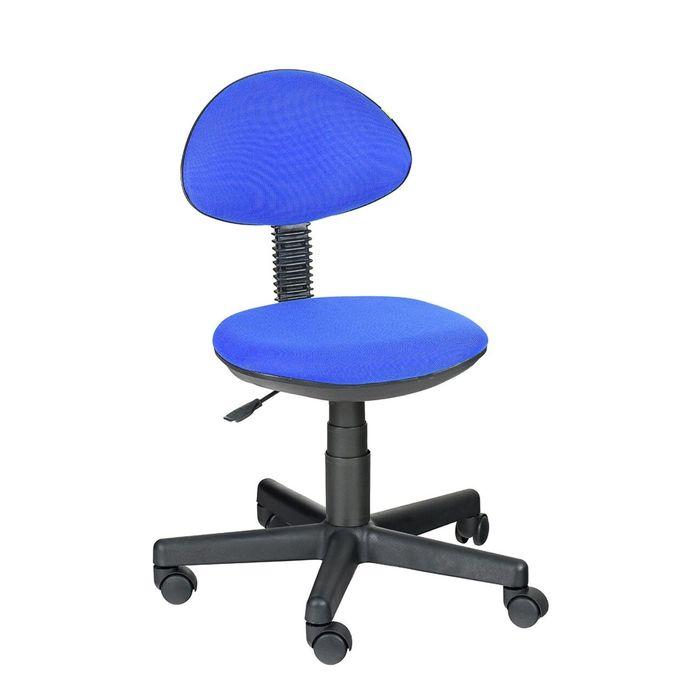 Детское кресло Логика,  синий, без подлокотника  В-10
