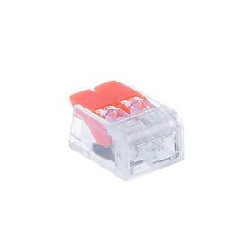 Клемма компактная соединительная Smartbuy, 2 отверстия с рычагами Ош