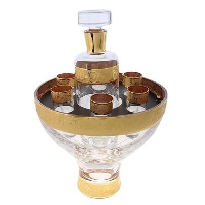 Набор для водки Royal Trophy (графин 1000 мл, 6 стопок) - Фото 1
