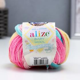 """Пряжа """"Baby Wool Batik"""" 40% шерсть, 40% акрил, 20% бамбук 175м/50гр (6550)"""