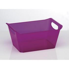 Ящик хозяйственный, 10 л, цвет МИКС Ош