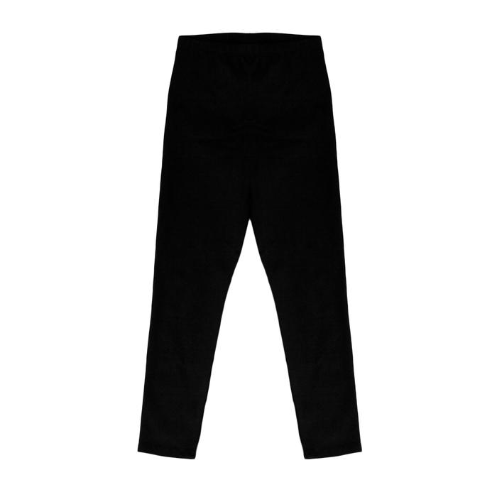 Лосины гимнастические х/б, размер 32, цвет чёрный