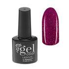 Гель-лак для ногтей, 5284-411, трёхфазный, LED/UV, 10мл, цвет 5284-411 сиреневый блёстки