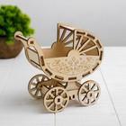 Кукольная коляска-конструктор «Коляска для ребёнка 10 см Barbie»
