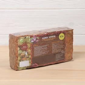 Субстрат кокосовый в блоке, 21 × 11 × 7 см, 4,5 л, индивидуальная упаковка Ош