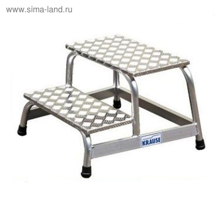Подставка монтажная KRAUSE STABILO, алюминевая, противоскользящая, 2 ступени
