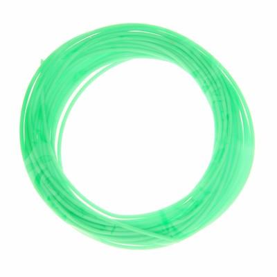 Пластик PCL для 3D ручки, длина 5 м, d=1,75 мм, цвет кислотно-зелёный