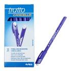 """Ручка """"пиши-стирай"""" шариковая Tratto Ftratto Cancellik +ластик фиолетовый 826108"""