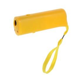 Ультразвуковой отпугиватель собак LuazON LRI-05, пластик