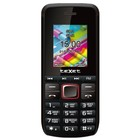 Сотовый телефон Texet TM-203 Black Red