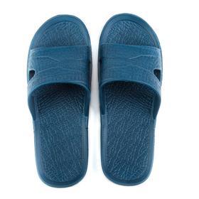 Слайдеры мужские «Степ», цвет синий, размер 43 Ош