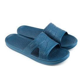 Сланцы мужские «СТЭП» цвет синий, размер 43 Ош