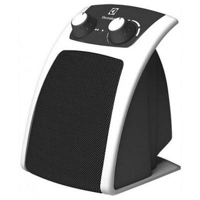 Тепловентилятор Electrolux EFH/C-5120, напольный, керамический, 1500 Вт, 25 м2, бело-чёрный - Фото 1