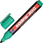 Маркер перманентный 3.0 мм EDDING E-300/4, (нестираемый) зелёный