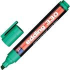 Маркер перманентный скошенный 1.0-5.0 мм EDDING E-330/4 зелёный