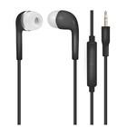 Наушники проводные OXION HS230BK Standard, вакуумные, микрофон, 16 Ом, 1 м, чёрные