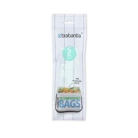Пакет пластиковый биоразлагаемый, объём 10 л, 10 шт.