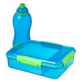 Набор контейнер Sistema с разделителями, 975 мл, бутылка, 330 мл