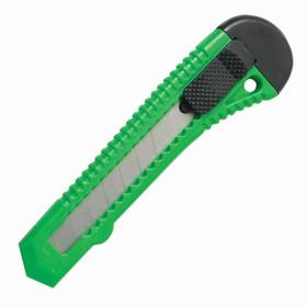 Нож канцелярский 18 мм STAFF эконом, фиксатор, цветной корпус микс, с европодвесом Ош