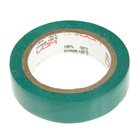 Изолента LOM, ПВХ, 15 мм х 7 м, 130 мкм, зеленая