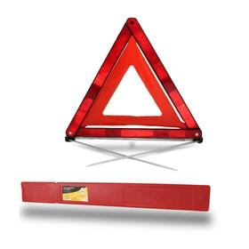 Знак аварийной остановки 'ГЛАВДОР' с клеенчатым оракалом, пласт. бокс, на металл. спицах Ош