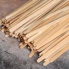 Палочка размешиватель деревянная, 140х6х1,3 мм - Фото 2