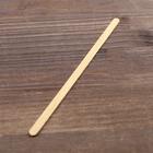 Палочка размешиватель деревянная, 140х6х1,3 мм - Фото 4