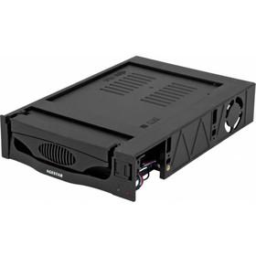 Сменный бокс для HDD AgeStar MR3-SATA(S)-1F SATA II пластик черный 3.5' Ош