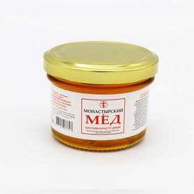 """Мёд монастырский """"Противопростудный"""", стекло"""