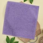 Салфетка махровая, 30х30 см, цвет сирень